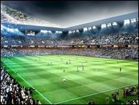 Новый стадион Портсмута