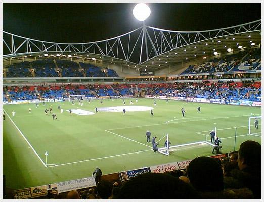 Рибок Стэдиум современный стадион, построенный в 1997 году
